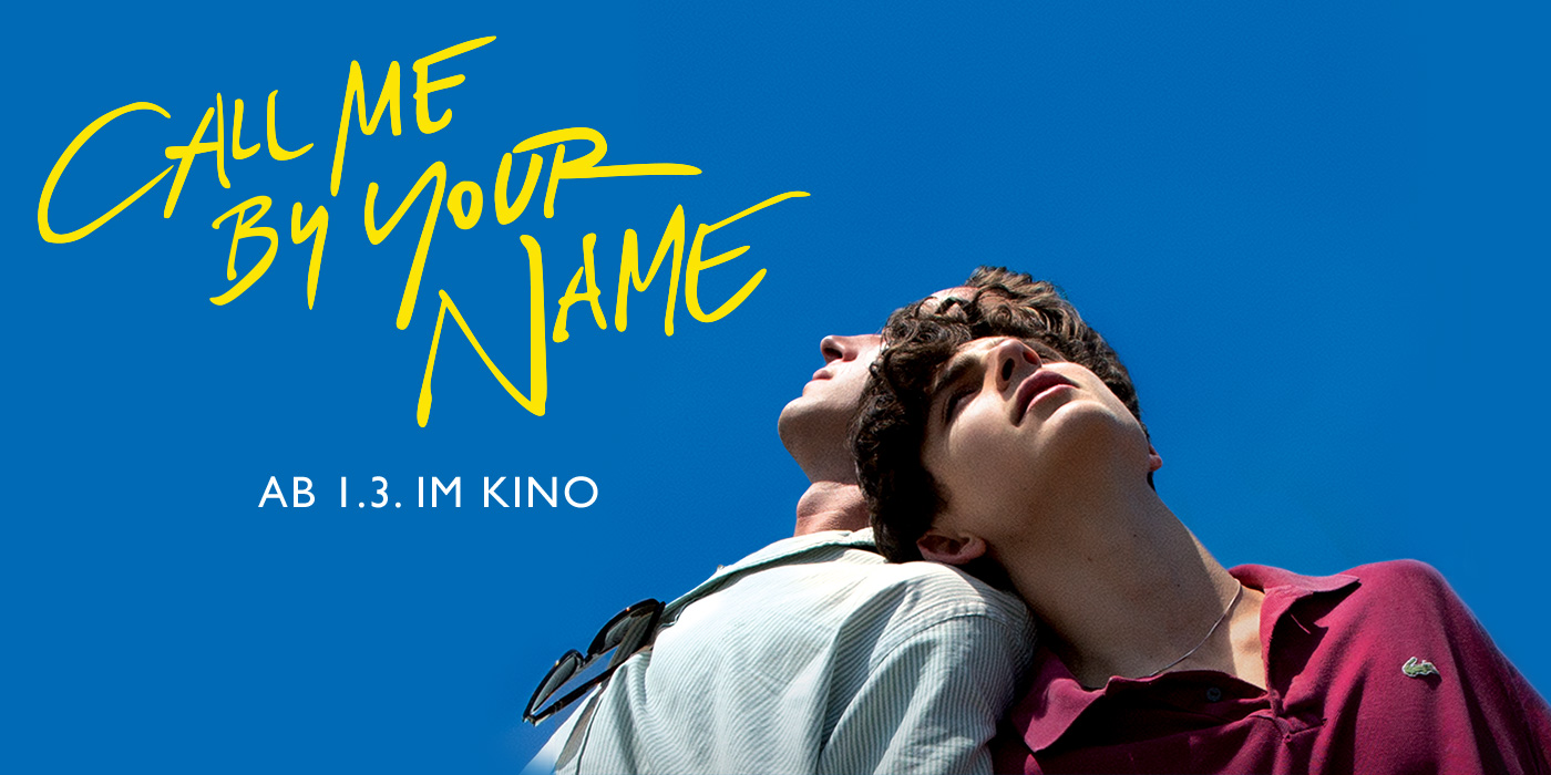 Call Me By Your Name Kino