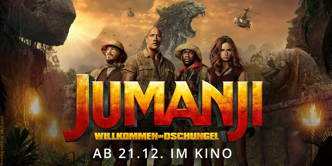 Kinofinder - Jumanji: Willkommen im Dschungel ab 21.12.2017 im Kino ...